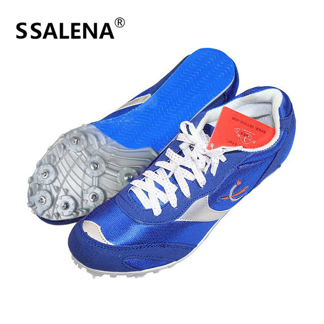 2f3e80fccdb92 Men Health Long-Jump Jumping Shoes Spikes Student Track And Field Shoes For  Men Breathable Sneakers Size 35-42 AA11101