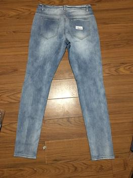 New Skinny Jeans men Streetwear Destroyed Ripped     3