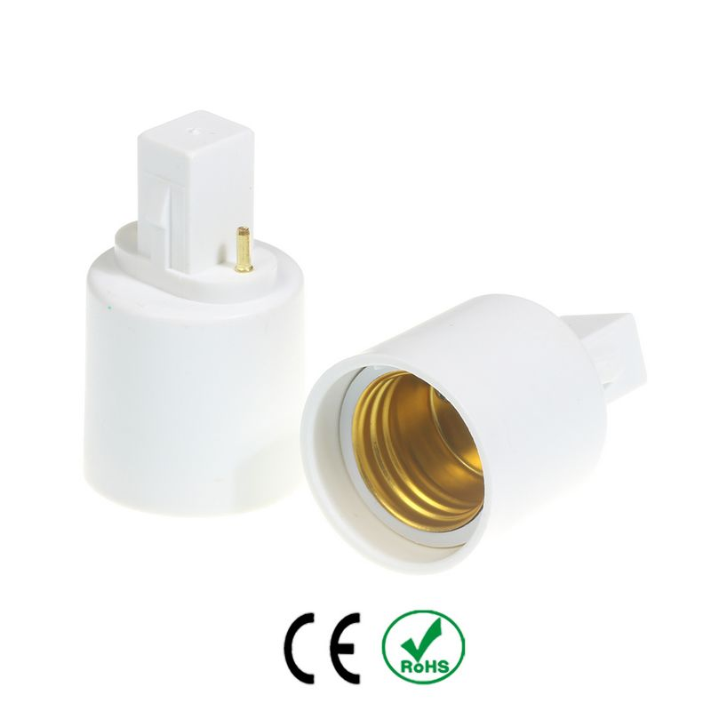 3 pcs G23 para E27 Conversor Suporte Da Lâmpada E26 Base G23 para E26  Lâmpada Soquete de lâmpada Conversor Adaptador Atacado 4214dfe963c5e