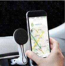 Car Phone Holder Magnetic Vent Long Arm Bracket Mobile Smartphone Magnet Support Unit GPS Stand