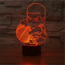 buy SLAM DUNK Hanamichi Sakuragi 3D Lamp LED NightLight Acrylic Colorful Gradient Atmosphere Touch Lamp Novelty Light Free shipping,image LED lamps offers