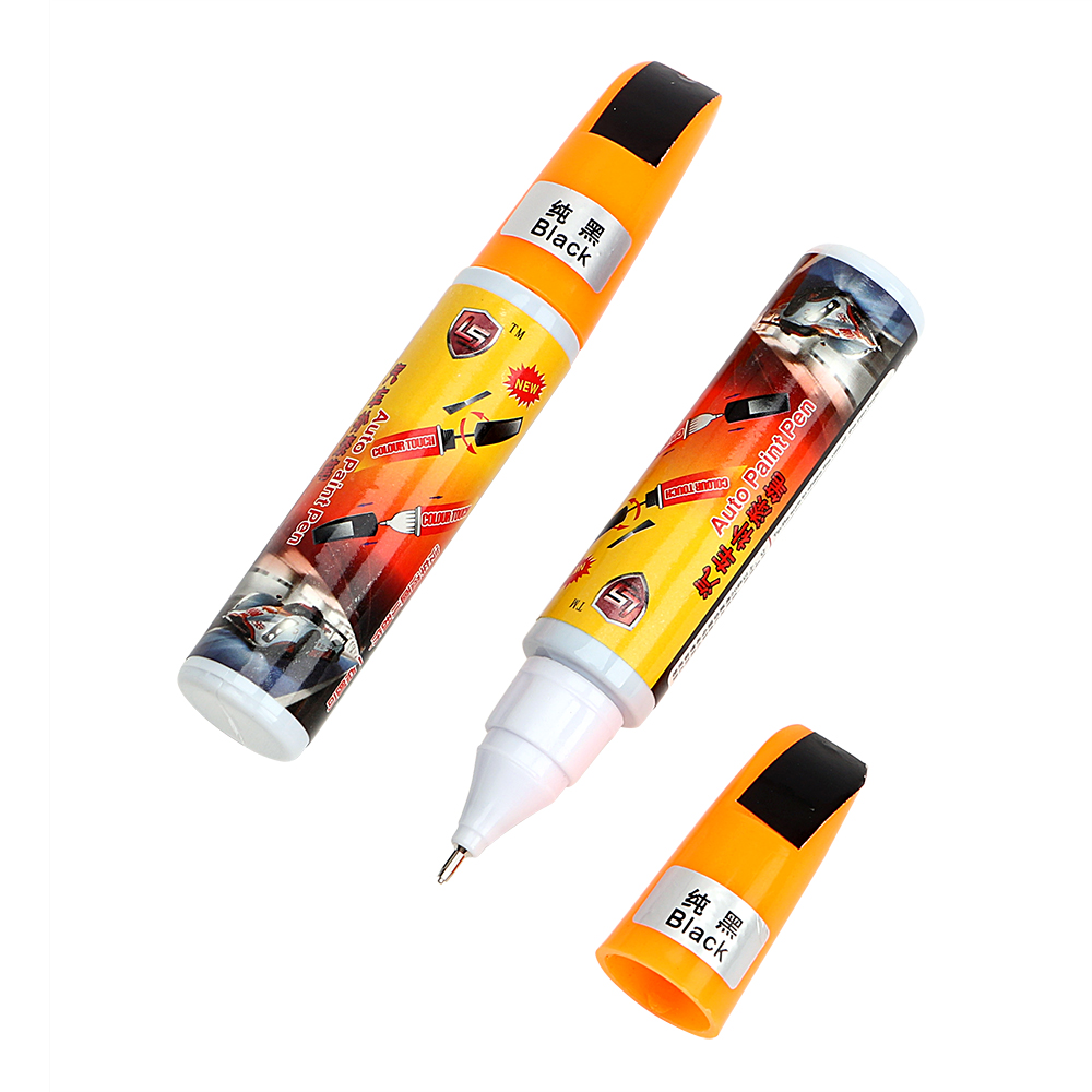 Auto paint pen black auto care a pair car styling car scratch repair fix it