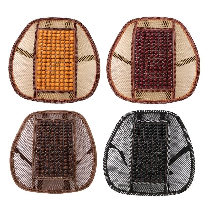 Offen Hot!! Handauflagen Auto Auto Sitz Vent Massage Kissen Mesh Zurück Lenden Unterstützung Büro Stuhl Pad Massage Neue Entlastung Von Hitze Und Sonnenstich