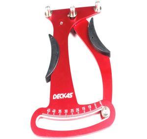 Image 2 - Deckas indicateur vélo Attrezi compteur tensiomètre rayon de bicyclette Tension roue constructeurs outil bicyclette rayon outil de réparation