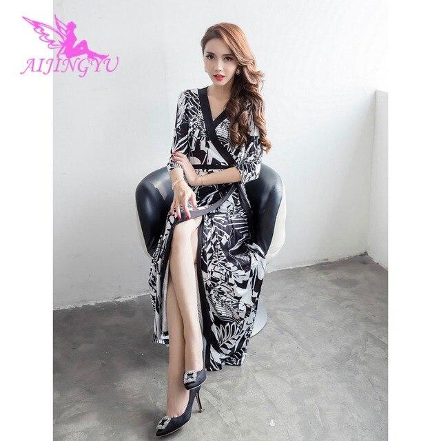 AIJINGYU элегантные вечерние платья вечерние платье 2018 Для женщин вечерние пикантные специальные Нарядное платье модные платья FK181