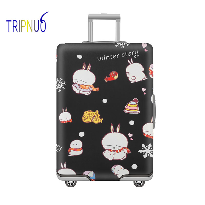 TRIPNUO Stack of Bears Travel Suitcase Cover 19-32 Inch Thickest Elastic Luggage Cover Travel Accessories