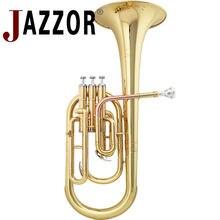 Профессиональный альт Рог JAZZOR JYAH-E100 E плоские ключи высокого класса золото латунь духовой инструмент с мундштуком и чехол