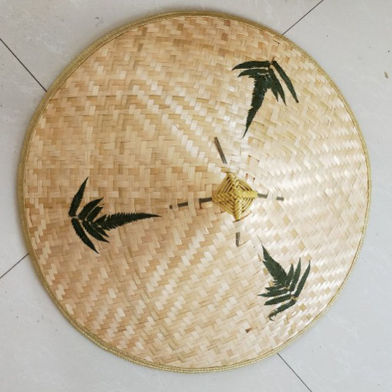 Прочный Кули соломы Bamboo конический шляпа от солнца сад фермер Рыбалка сцены ...