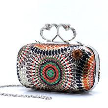 New Women Evening Bags Sparkling Women Purses and Handbags Day font b Clutches b font Purse