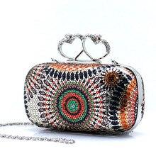Neue Frauen Abendtaschen Funkelnden Frauen Geldbörsen und Handtaschen Tageskupplungen Geldbörse Exquisite Hochzeit Taschen