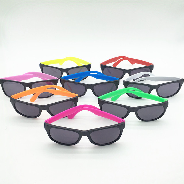 0768ef0d8b 24 Pairs Customized Made 80 s Style Neon Wedding Favors Funny Party  Sunglasses Party Gifts Party Toys Goody Bag Favors-in Party DIY Decorations  from Home ...