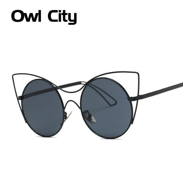 Len Klassisches Design neueste katzenaugen sonnenbrille frauen marke designer klassische