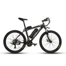Lankeleisi T8 Electric 240W 36V 20 AH Lithium Batteries Bike 21 Speed Double V Brake 26x17