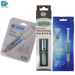 GD900 термопроводящая смазка паста силиконовый пластырь теплоотвод соединение высокая эффективность серый вес нетто 7 г для ЦП BR7
