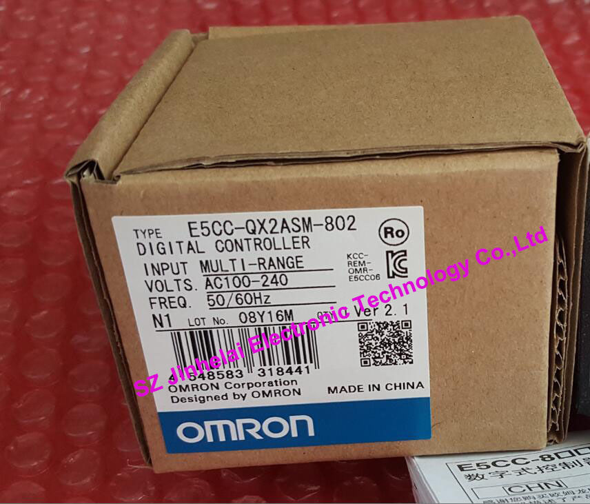 E5CC-QX2ASM-802 New and original OMRON DIGITAL CONTROLLER AC100-240V пылесос хозяйственный bort bss 1518 pro