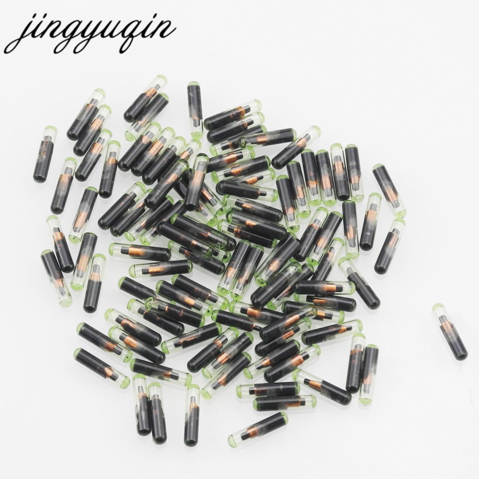 Jingyuqin-10 unids/lote de llave de coche, transpondedor ID48 T6, Chip Crypto desbloqueado para VW /Audi /Seat /Skoda /Porsche