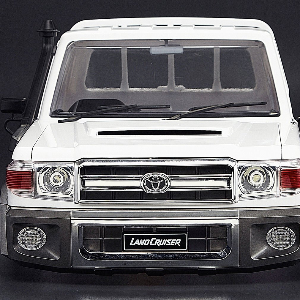 Killerbody 1/10 Toyota Land Cruiser 70 Hard Body Kit Portable Size Exquisite Mechanical Work Sets