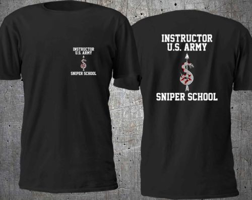Us Army Sniper School Marine Special Force T Shirt Man Two