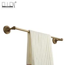 Аксессуары для ванной комнаты Античная бронзовая настенные одного полотенца бар держатель для полотенец