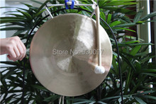 """High Quality Percussion instruments traditional Chinese 10"""" wind gong"""