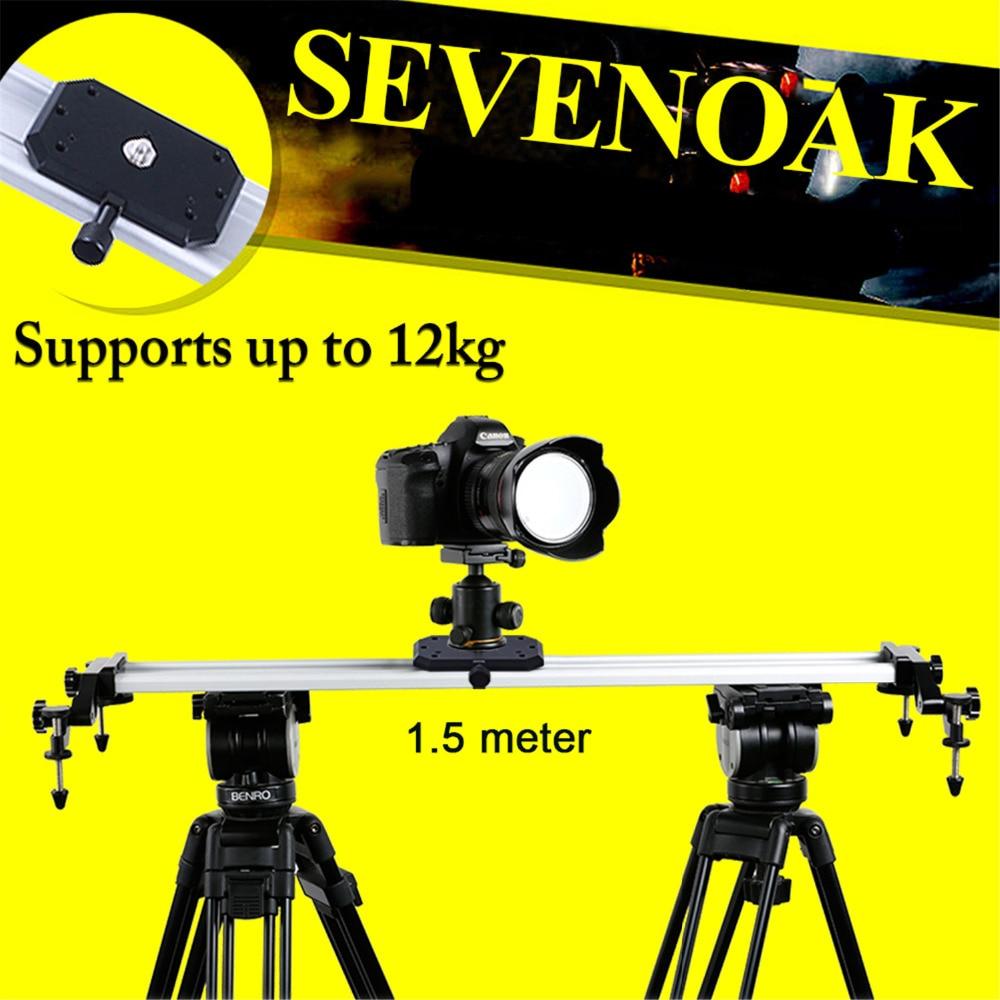 Sevenoak SK-HD150 Aluminum Cam Slider Steadycam for Canon 5D 7D 60D Nikon D3100 D7000 Sony A55 Pentax Gopro Camera Camcorder