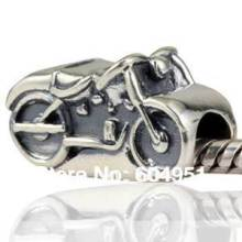 1PCS/lot Wholesale 925 Sterling Silver European Motorcycle Ride Bead fit Pandora Style Bracelets Jewelry