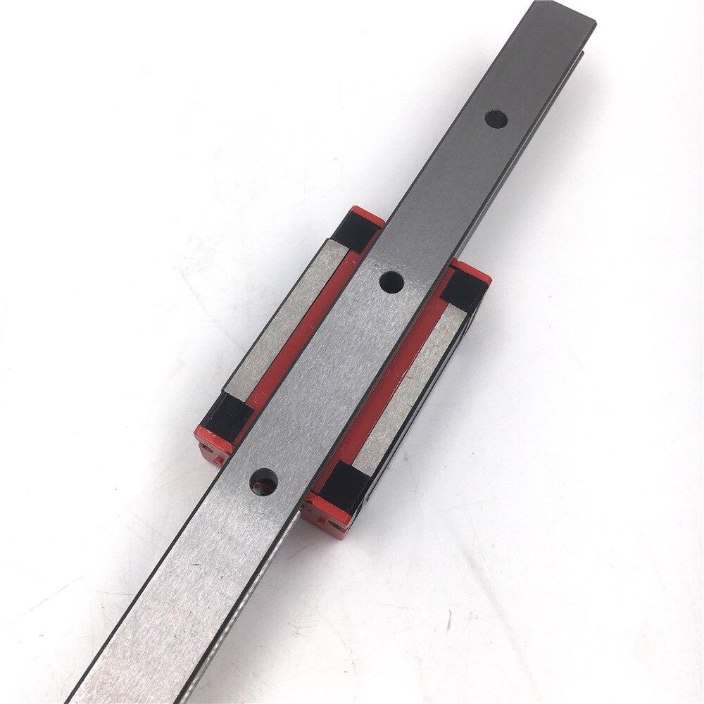 25mm HIWIN Linear Guide Rail HGR25 800mm /& 2pcs HGH25CA Rail Block Slider CNC