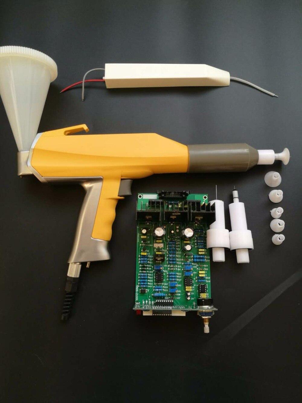 ganze reihe elektrostatische pulverbeschichtung experiment system