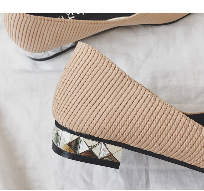 fashion flower shoes Women autumn flats sequins shoes pink black point toe  crystal shoes girls slip on loafer shallow shoes -in Women s Flats from Shoes  on ... 2a5408f69dc5