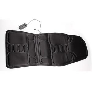 Image 4 - Cojín de masaje de cuerpo completo para coche y oficina, colchón vibrador de calor de 7 motores, silla de masaje para espalda y cuello, asiento de coche relajante de 12V