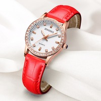 Fashion Women Watches Quartz Waterproof Analog Alloy Leather Strap Ladies Gifts Clock Casual Dress reloj mujer Watch