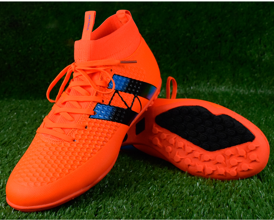 ankle high soccer boots