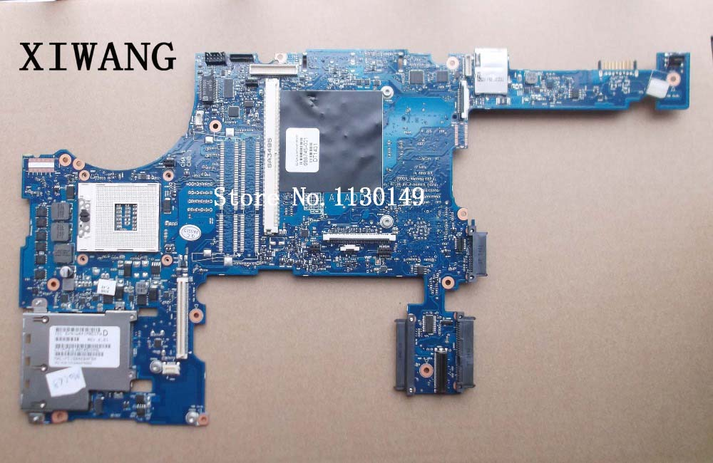 688745-501 Free Shipping Original laptop motherboard for HP Probook 8770W 8770P 688745-001 PGA989 QM77 DDR3 Fully tested цена