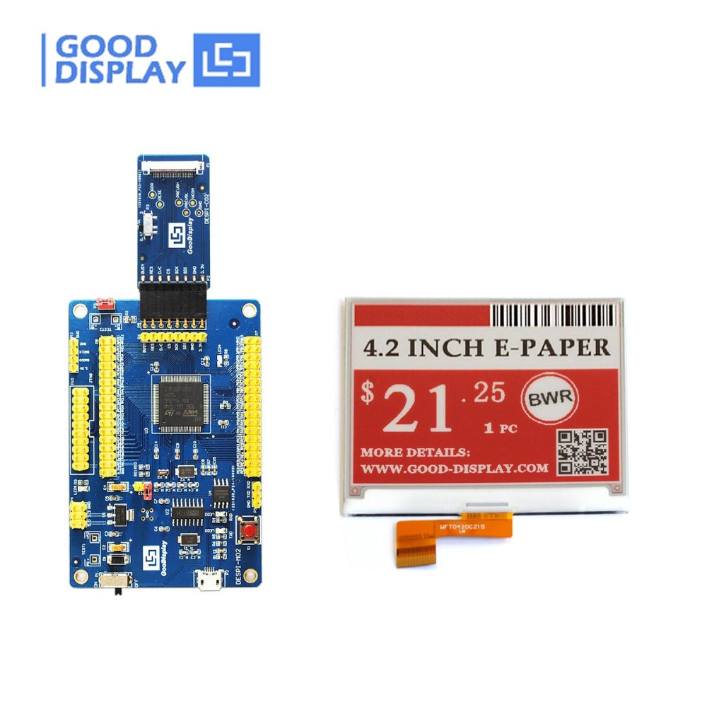 USB port Programmable Demo Kit with 4 2inch three Color e ink module