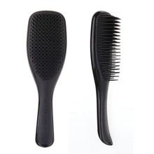 2 шт., Антистатическая щетка, расческа для укладки, набор для душа, гальванизированная расческа для распутывания, массажные расчески для салона, для укладки волос для женщин и девочек