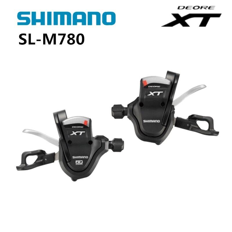 Shimano DEORE XT SL-M780 trigger shifter 2/3*1S 30 speed for MTB moutain bike M780 электромясорубка bork m780
