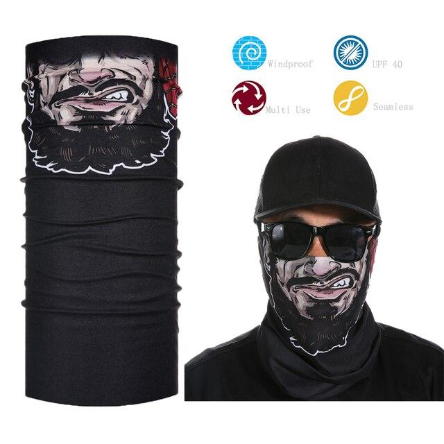 Men s funny face shield bandana-in Men s Scarves from Apparel ... bdbe9443f