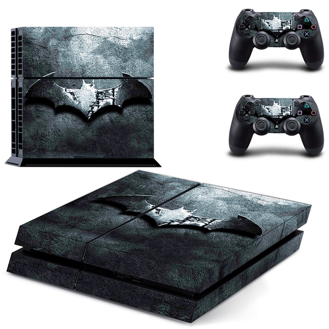 Batman Logo ps 4  Sticker PS4 Skin for Sony PS4 PlayStation 4 and 2 controller skins