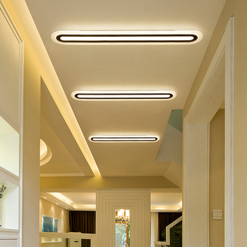 Led ceiling office modern minimalist living room bedroom corridor corridor rectangular creative lamps Ceiling Lights