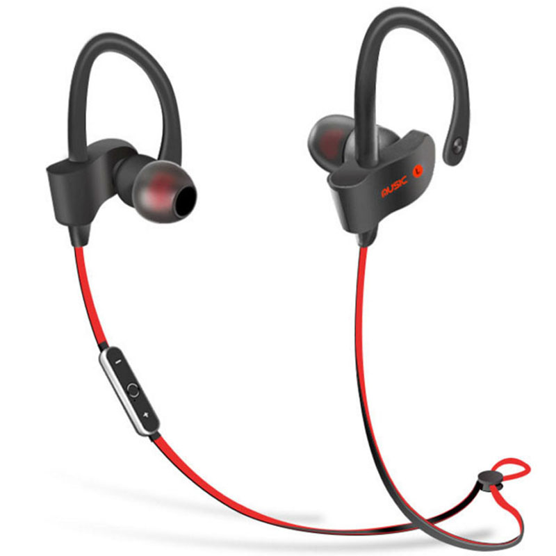 S2 Wireless Bluetooth Hedphone Sports Bluetooth Headset Music Stereo Earbuds Earphones with Mic In ear for