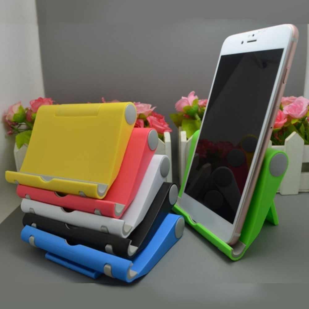 Universal พับตารางผู้ถือโทรศัพท์มือถือสำหรับ iPhone 8 7 6 Plus แท็บเล็ตสนับสนุนโทรศัพท์สำหรับทั้งหมดโทรศัพท์มือถือ