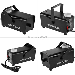 Image 5 - Máquina de fumo/com controle remoto, 400w, ejector resistente/para festa de natal, dj, palco, neblina, máquina/400w mini ejector de fumaça,