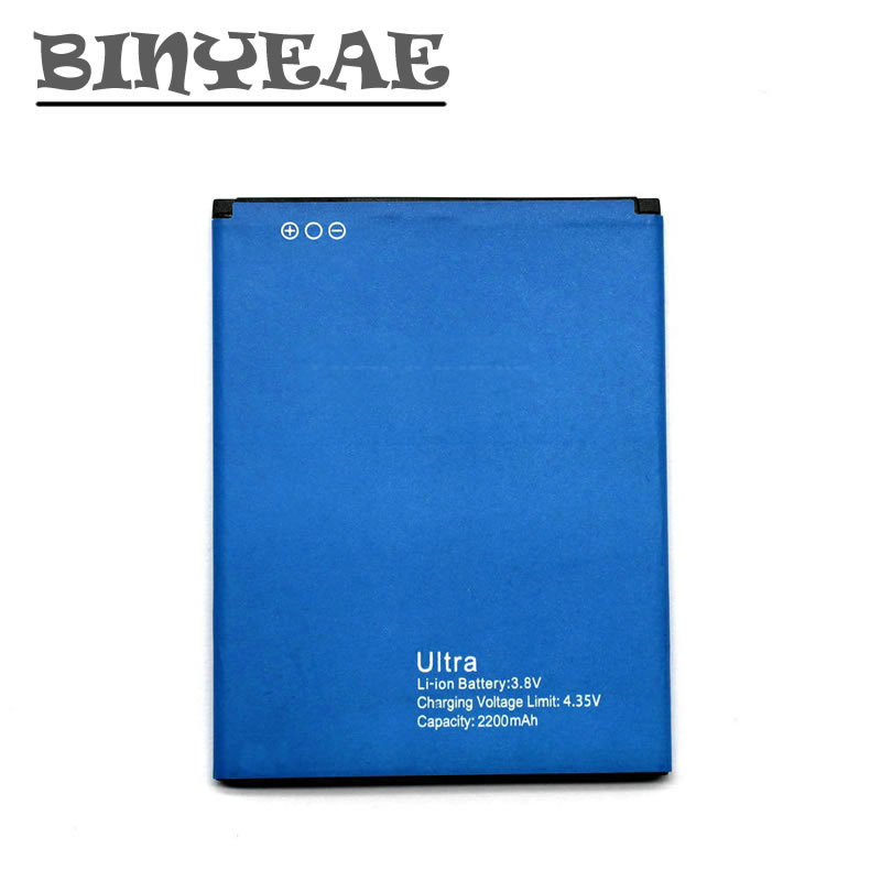 BINYEAE Ultra A6 Battery For Blackview Ultra A6 Smartphone Bateria