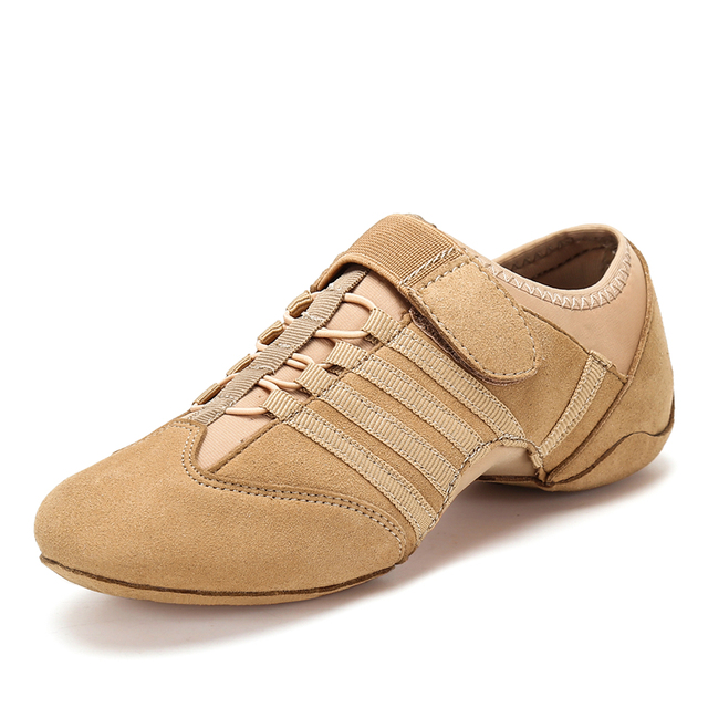 Modern Dance Shoes Woman Spring Latin Jazz Shoes Indoor Dancing Shoes Summer Breathable Sneakers Ladies Party Shoes for Women 1