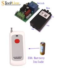 Sleeplion 110 В переключатель с пультом дистанционного управления реле универсальный пульт дистанционного управления для света гаражная дверь переключатель модуль 220 В 433/315 МГц