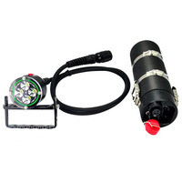 Diving Flashlight ARCHON WH46 DH40 Underwater Light 4*L2 U2 Led 4000LM Canister Snorkeling Scuba Diving Light With Battery Pack