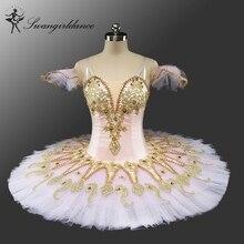 Adult Pink Peach Fairy ballet tutu girls' Pincess Florina Nutcracker professional classical dressBT9134D