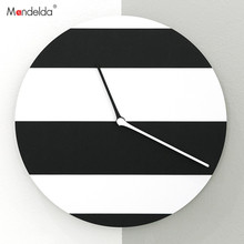 Mandelda Wall Clocks Watches Home Decor Wooden Clock Vintage Cuckoo Digital Silent