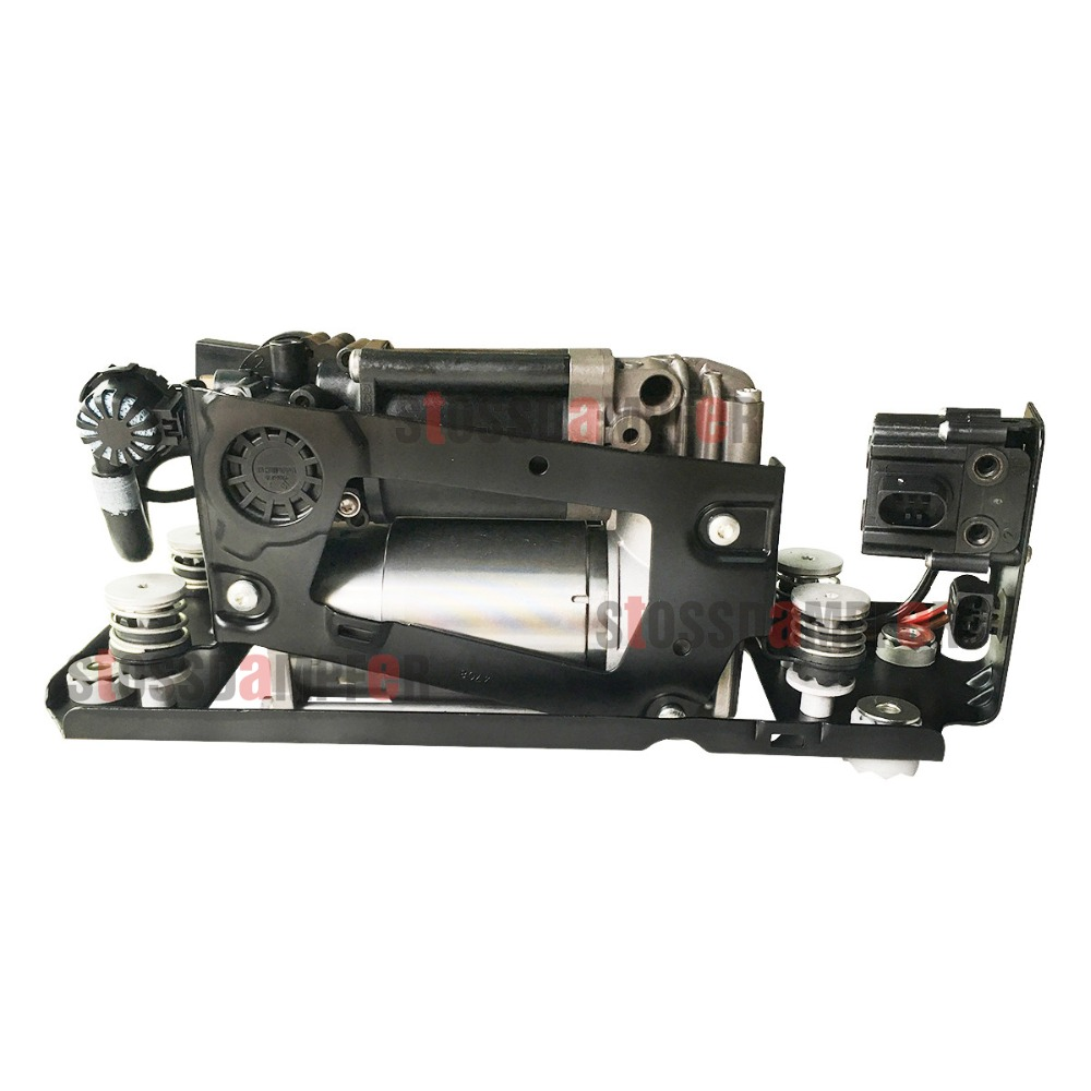 StOSSDaMPFer Air Suspension Air Compressor With Suspension Valve Bracket Fit BMW F01 F02 F04 750Li 760Li 37206789450 in Power Steering Pumps Parts from Automobiles Motorcycles