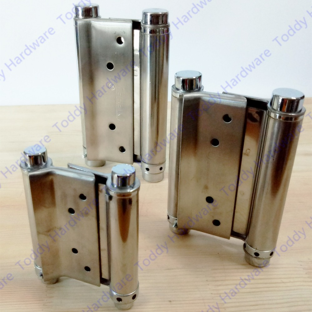 2pcs 3/4/5/6/8 inches Stainless steel door hinge gate hinge door fittings two sides open hinge Spring hinge deha толстовка